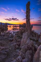 Mono Lake Sunset [Explored 03/24/13] (Eddie 11uisma) Tags: sunset lake mono golden landscapes dusk magic pass sierra lee hour eddie eastern tufa tioga vining lluisma