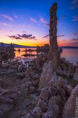 Mono Lake Sunset [Explored 03/24/13] (Eddie 11uisma) Tags: sunset lake mono golden landscapes dusk magic pass sierra lee hour eddie eastern tufa tioga vining lluisma