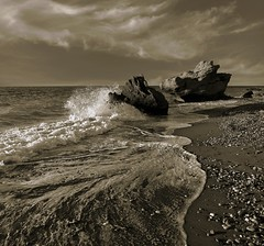 SEPIA GREECE (explore) (kenny barker) Tags: sepia explore greece rhodes rhodos panasoniclumixgf1 kennybarker