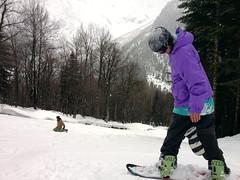 Dima (Ekaterina Sotova) Tags: winter sun snow mountains girl snowboarding happy march spring ride russia extreme freeride holydays biy madnes caucas 2013 dombay karachaycherkessia
