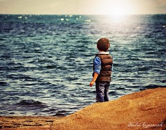 ... (Dimitra Kirgiannaki) Tags: light boy sea colors kids children photography back spring greece future tender attica dimitra 2013 neamakri nikond3100 uploaded:by=flickrmobile flickriosapp:filter=nofilter kirgiannaki vigilantphotographersunite