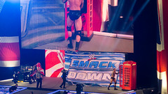 Randy Orton vs Alberto Del Rio at Smackdown taping in Birmingham, England November 2012