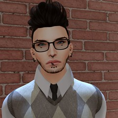 pretty boy (Vixxie.) Tags: secondlife vixxie vixxievultee allarik