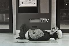 Homeless (6x9 Kodak T-Max 400) (Nebbius) Tags: film kodak tmax 5 homeless 400 6x9 journalism moskva pelicola
