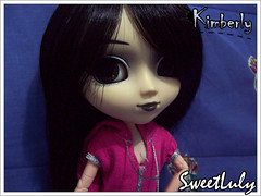 Kimberly (SweetLuly) Tags: pink dolls pullip kimberly blackhair chill obitsu cancanwig 25cm fashionfever pullipchill r53a