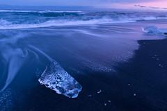 Iceland-75-2 (neutronman61) Tags: sea ice beach iceland coastline jokusarlon