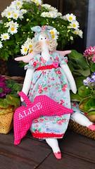 Tilda personalizada (Ateli Mari Martins) Tags: de pano artesanato boneca tilda anjo tecido