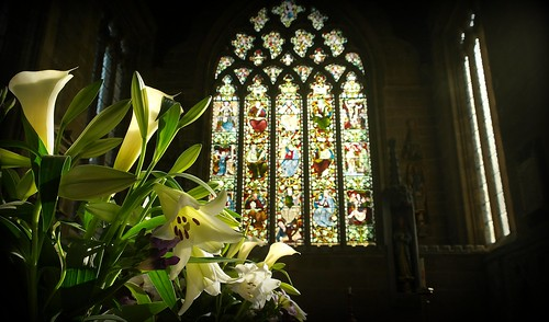 Lillies - Tideswell Church