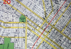 Richmond VA 1948 (davecito) Tags: virginia map richmond ephemera 1940s planning transportation cartography roadmap urbanplanning drafting streetmap citymap oldmap capitalcities vintagemap colonialcities piedmontregion highwaymap independentcities geographiamap falllinecities