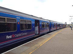 319364, Wimbledon (looper23) Tags: uk england london train fcc rail railway class april emu wimbledon 319 2013 319364