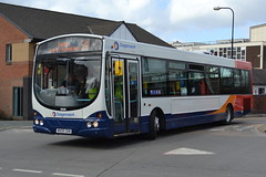 Stagecoach Volvo B7RLE 21238.MX05CKN - Wigan (dwb transport photos) Tags: urban bus eclipse volvo wright stagecoach wigan 2138 mx05ckn
