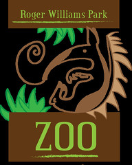 Zoo Logo (SandsDrewGuy) Tags: grass animals typography design graphic ant rhodeisland adobe font illustrator markings eater organism rogerwilliams zoologo