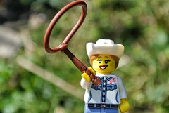 cowgirl (dogpier) Tags: lego minifigs minifigures