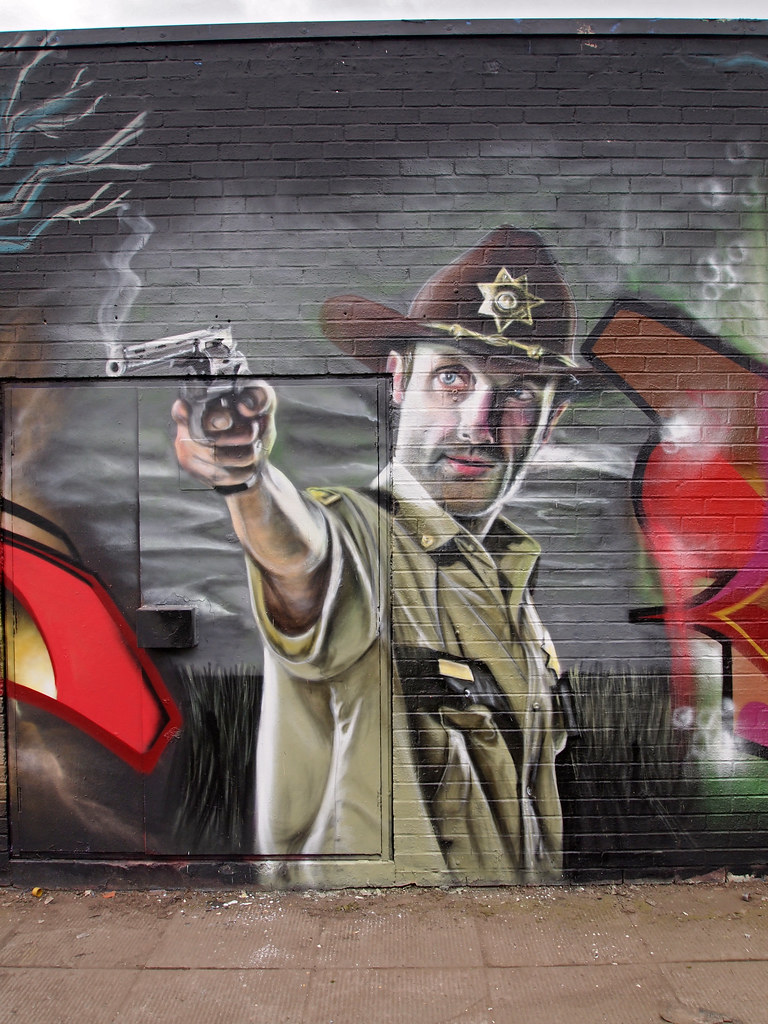 Mural Walking Dead Of The World 39 S Best Photos Of Gnashermurals And Graffiti