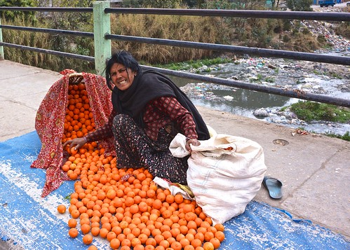 Kathmandu orange seller