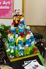 cake design week (Valentina Turci) Tags: italy art colors cake design italia pasta sugar di evento napoli naples week tamron smurfs torta fiera zucchero puffi 1750mm expò canoneos550d