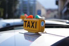 TAXI () Tags: test sign colorful bright taxi sony blurred sample locarno f18 beispielfoto testaufnahme nex5n sel50f18