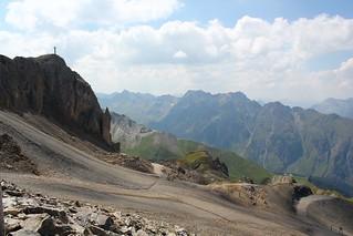 On our way to the Greitspitz. Paznaun. Tirol. Austria.
