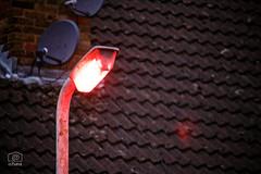 Red light (cchana) Tags: light streetlight red redlight roof