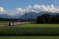 Re 460 105 VSLF (Maxime Espinoza) Tags: re 460 105 vslf suisse train sbb cff ffs zug kiesen