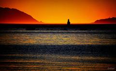 Solpor na Bocana Norte (Franco DAlbao) Tags: francodalbao dalbao nikond60 radevigo mar sea monteagudo cabodehome solpor atardecer sunset galicia vigo salida exit faro lighthouse bocananorte ruta route mitierra myland