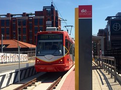Back on the streets of DC (st_asaph) Tags: skoda tram lightrail washingtondc dcstreetcar