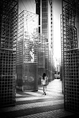 city reflections (dako_huang) Tags: dakohuang streetphotography blackandwhitephotography streetpics humaningeometry seoul