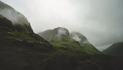 Mist and the ghosts of the MacDonalds (g a b r i e l l e s w i n d l e h u r s t) Tags: scotland summer trossachs national park glencoe moutains rabbies tours