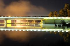 Dam reflections (Shawn Sijnstra) Tags: dam reflection night nightfoto water stars canberra act australia