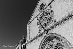 Assisi (uzzunac) Tags: canon eos 7d assisi chiesa blackwhite monocromatico monochrome culto preghiera fedeli riccardocerminara