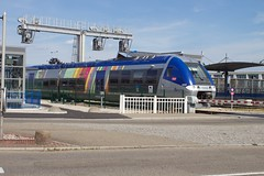 Train to St-Die leaves from Molsheim (krijnders) Tags: acg molsheim sncf ter x76600