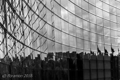 (Floramon) Tags: pforzheim spiegelung reflexion gebude haus building architecture architektur sw bw nb kommunaleskino