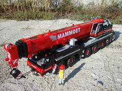 Liebherr LTM 1350-6.1(1) ([Maks]) Tags: lego liebherr mobile crane ltm 1350 135061 ltm135061 122 miniland scale mammoet engineering equipment