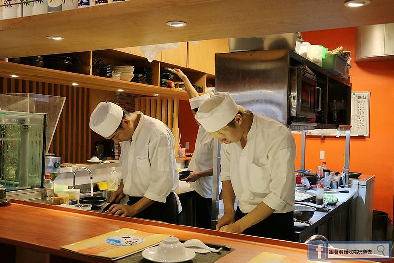 大咬和食商社六張犁通化日本料理031
