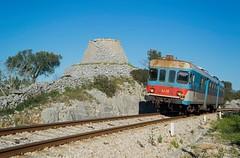 FSE - Cannole (Giovanni Grasso 71) Tags: triggiano putignano cannole maglie otranto ferrovie sud est giovanni grasso nikon d610 silberling aln 44 aln44 pesa automotrice diesel nafta de122 d122 122 impa itinitalimprese industrie locomotiva puglia salento adriatico italia