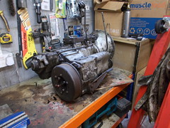 Series 3 gearbox (37114) Tags: land rover gearbox series 3 fairey