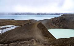 Askja vulkaan (Rita Willaert) Tags: askjavulkaan iceland öskjuvatnmeer van askja víti explosiekrater kratermeer lavaformaties norðurlandeystra ijsland is absolutelystunningscapes