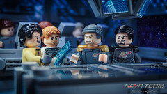 Surprising Findings (Agaethon29) Tags: lego afol legography brickography legophotography minifig minifigs minifigure minifigures toy toyphotography macro cinematic 2016 legospace neoclassicspace spaceman classicspace space scifi sciencefiction ncs novateam customminifigure