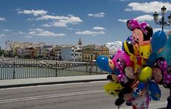 Triana (frederik89) Tags: siviglia seville palloncini colori colours bridge ponte guadalquivir spagna spain baloons triana