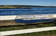 Peter's Island Fence (tvordj) Tags: brierisland novascotia fences lighthouses oceanscape