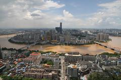 Liuzhou/ 2408 (Petr Novk ()) Tags:  china na  guangxi  asia asie  liuzhou cityscape city architecture   building river water citycentre downtown