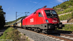 OBB 1116 115 on DGS 47133 to Hungary at Gambach (37001 overseas) Tags: gambach maintal karlstadtammain obb 1116115 11161157 dgs 47133 dgs47133 bremerhaven kecskemet arsaltmann ars pctaltmann pct mercedesbenz