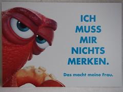 LOL (sh0pi) Tags: finding dorie dory findet nemo postkarte frau