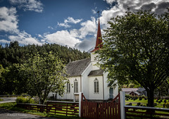 The little church (Askjell's Photo) Tags: austefjord church fre mreogromsdal noreg norge norway scenery sunnmre volda fyrde