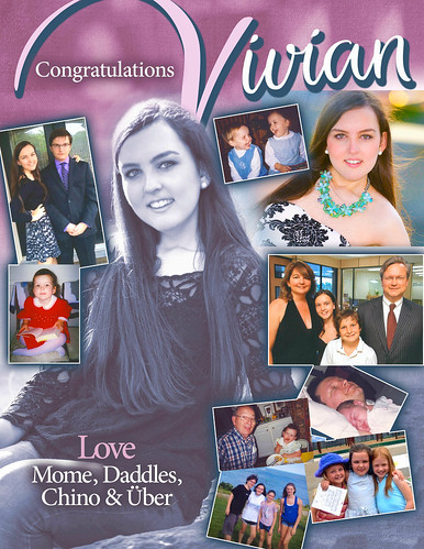 Heritage Hall School Senior Salute Yearbook Page
