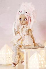 Sui (Mikiyochii) Tags: doll bjd abjd gretel luts balljointeddoll pink cute tdf tiny custom tdf20
