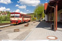 810.627-0 | tra 346 | Luhaovice (jirka.zapalka) Tags: luhacovice train trat346 os rada810 cd stanice