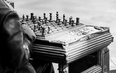 The chess player (hector_cbs) Tags: chess player blackandwhite blancoynegro blackwhite byn play game monochrome people
