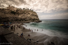 Tropea (paolotrapella) Tags: tropea sea long exposure water views panorama mare canon 1018
