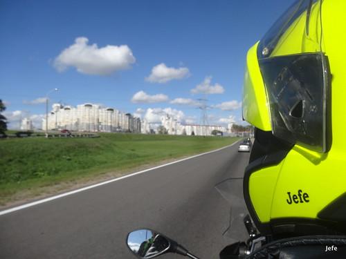 In Minsk, Belarus...